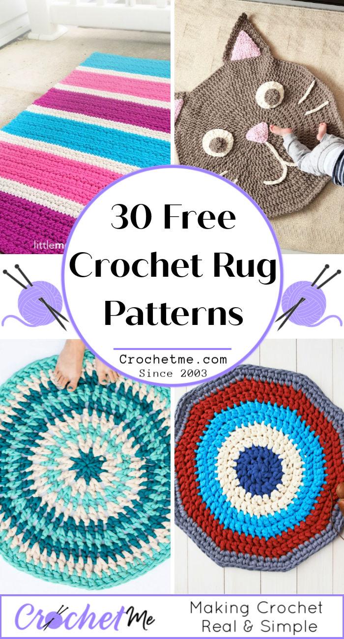 Free Crochet Rug Patterns For Beginners