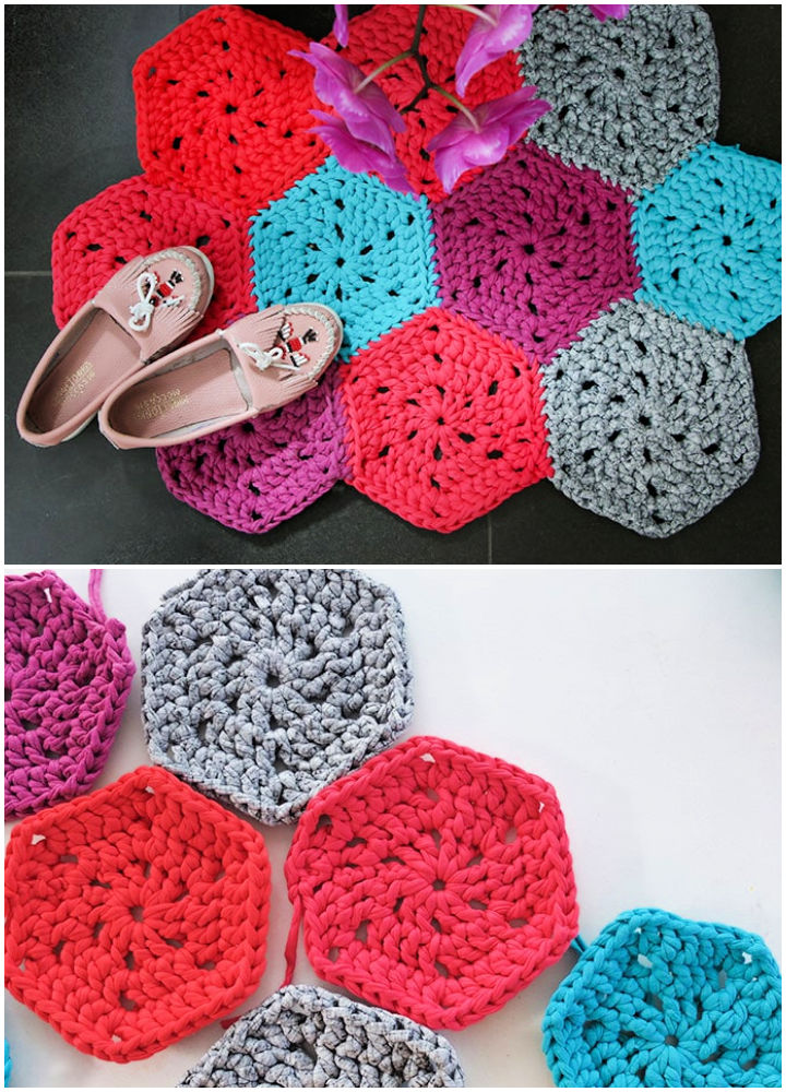 14 Free Crochet Rug Patterns to Spruce Up Your Space | 1000x720