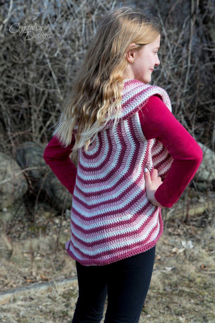 Free Crochet Lollipop Vest Pattern