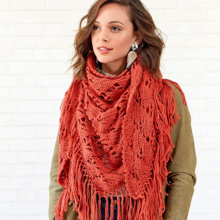 How to Crochet Boho Vibe Shawl
