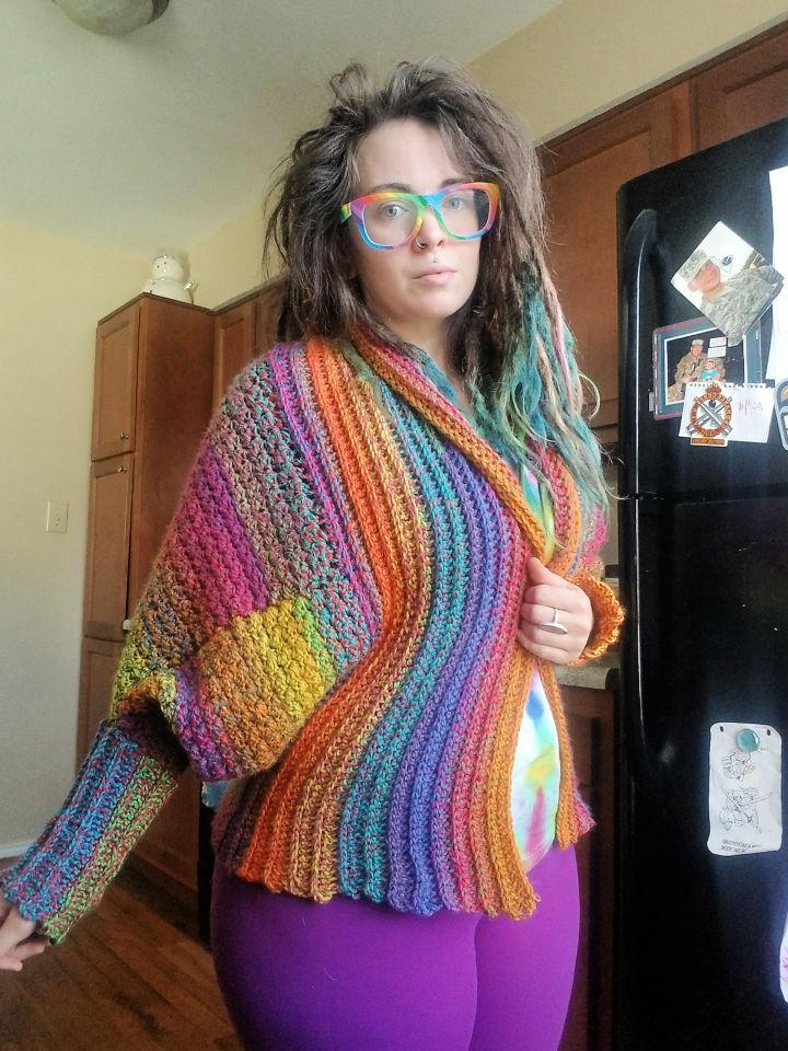 Crochet Habitat Cardigan