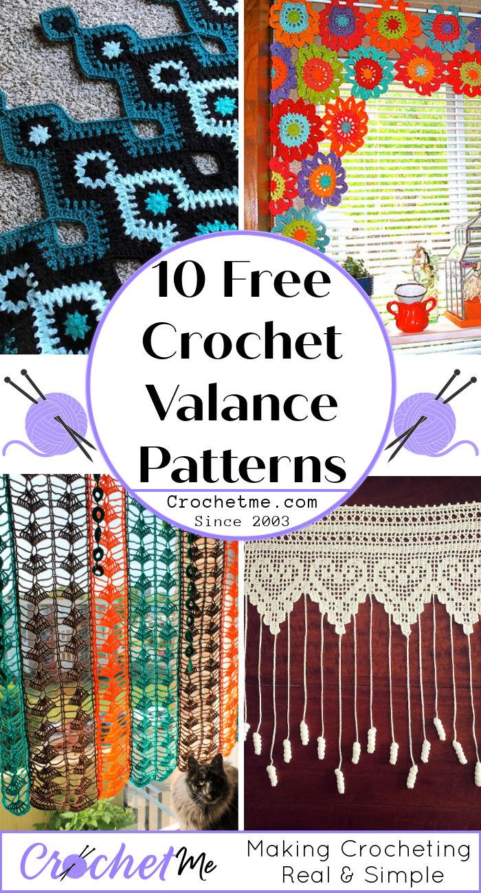 10 Free Crochet Valance Pattern Download Pdf Crochet Me